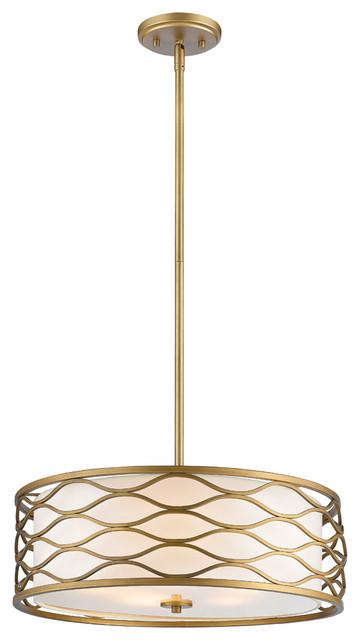 Severine 5-Light Pendants, Old Gold.