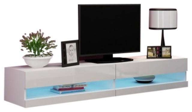 Vigo New Tv Stand , White.