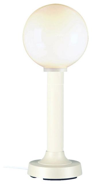 """Moonlite 35"""" Table Lamp, White"""