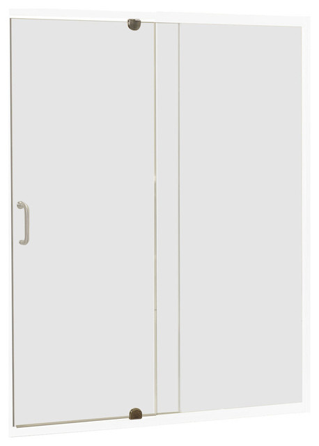 """Cove Frameless Door and Panel, Oil Rubbed Bronze, 60""""x69"""""""