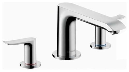 Metris 2-Handle 3-Hole Roman Tub Trim Set - Contemporary - Bathtub ...