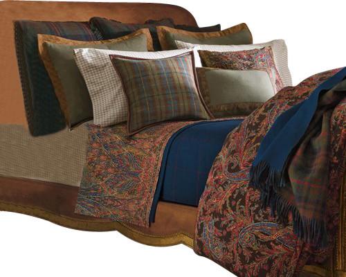 Ralph Lauren Bedford Hunt Paisley Queen Comforter Set 14p