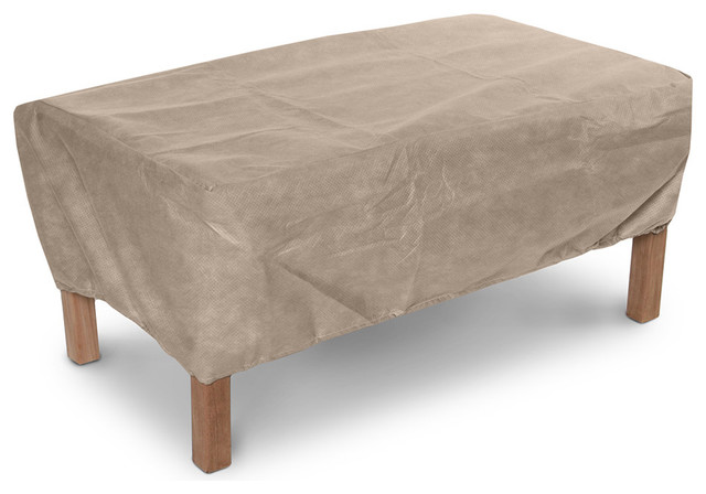 Ottoman Or Small Table Cover Traditional Outdoor Furniture Covers By Koverroos