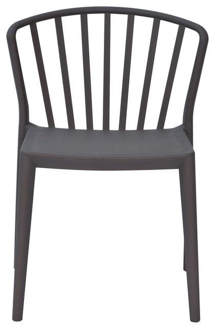 Astonishing Pax 4 Pack Indoor Outdoor Accent Chairs Gray Polypropylene Gmtry Best Dining Table And Chair Ideas Images Gmtryco