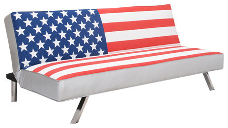 American Flag Futon Sofa Bed Contemporary Futons By