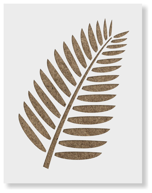 Durable /& Reusable Mylar Stencils Ferns Stencil