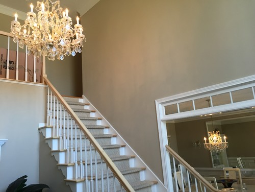 How Big Should Foyer Be : What is the best size for a chandelier in two story