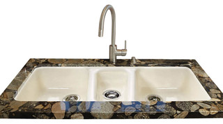 Ceco Kitchen Sinks Triple bowl easy installation no hole undermount contemporary triple bowl easy installation no hole undermount contemporary kitchen sinks by ceco sinks workwithnaturefo