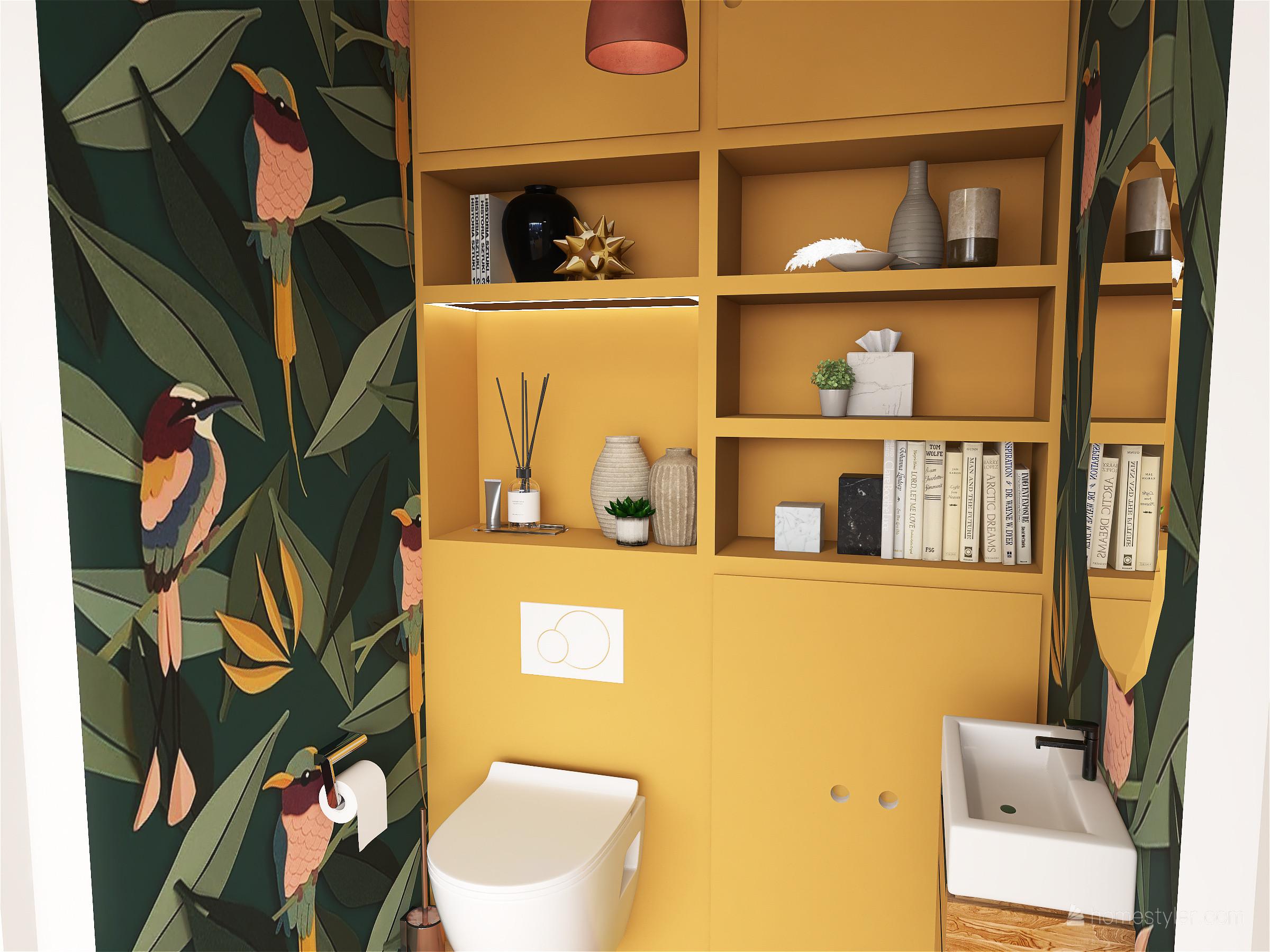 Projet VERSAILLES - Des WC colorés et sur mesure