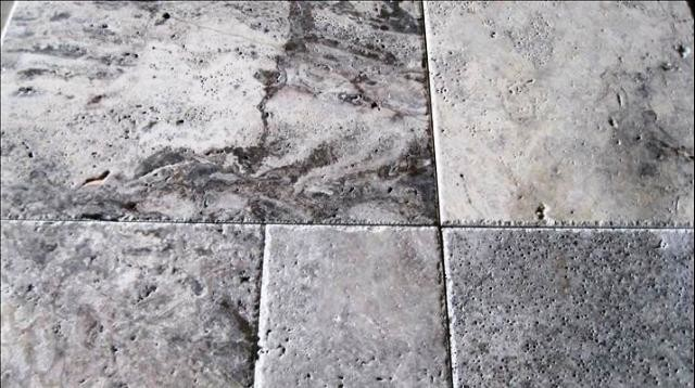 Honed Unfilled Tumbled Silver Travertine Tile Traditional Wall And Floor By Tiay
