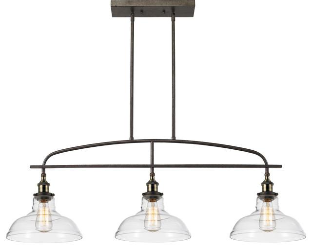 kitchen linear island pendant light vintage lamp chandelier 3 lights