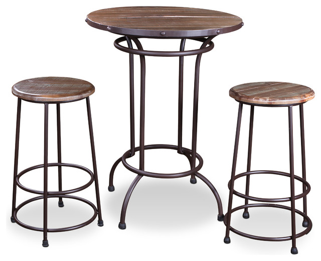 Sunset Trading 3 Piece Urban Loft Pub Table Set Indoor  : indoor pub and bistro sets from www.houzz.com size 640 x 520 jpeg 65kB