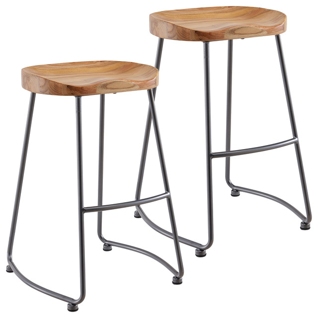 Bronte Counter Stools, Set Of 2.