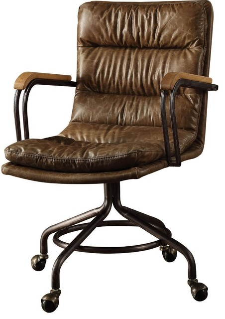 Wondrous Acme Harith Executive Office Chair Vintage Whiskey Tg Leather Gamerscity Chair Design For Home Gamerscityorg