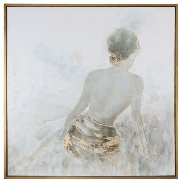 Uttermost Gold Highlights Feminine Art.