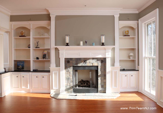 galeria bookcases, wall unith, built-ins, shelving - traditional
