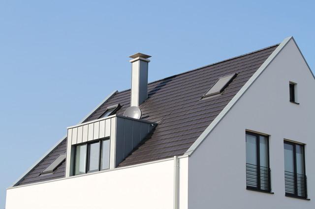 steildach stehfalzgaube innenliegende dachrinne. Black Bedroom Furniture Sets. Home Design Ideas