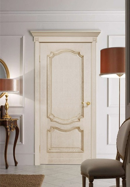 Prestige Ivory White Oak Classic Interior Door