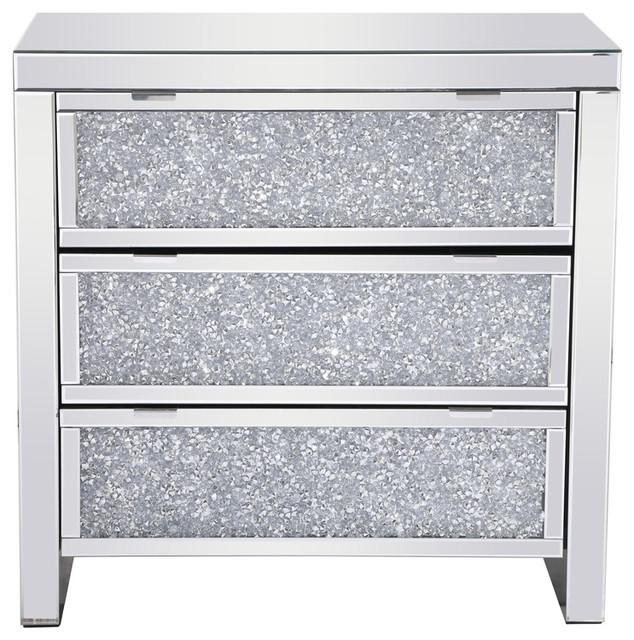 Elegant Modern 31 5 Crystal Cabinet