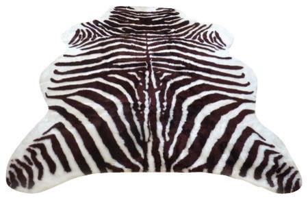Fake Zebra Rug Area Ideas