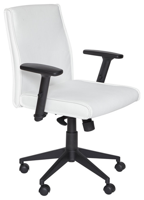 Boss Anti Tilt Mechanism Height Adjustable Mid Back Office
