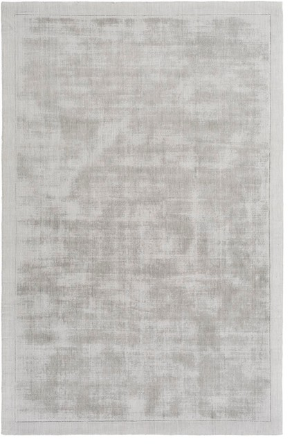 Contemporary Light Gray Rug Silk Route Awsr 4036 8 X10