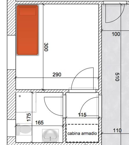 come organizzare camera con bagno per disabili?