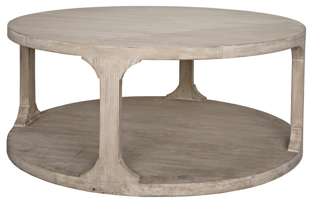 Cfc Furniture Reclaimed Lumber Gismo Round Coffee Table Small