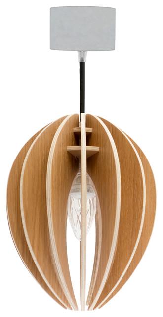 Gone's Bud Pendant Lamp, Oak