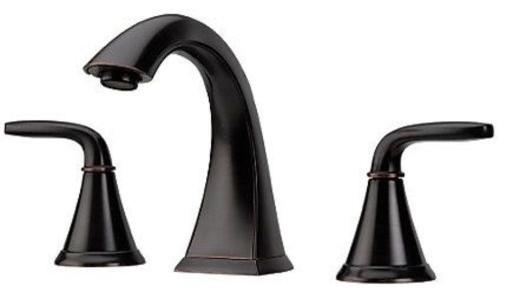 Pfister LF-049-PD Pasadena 1.2 GPM Widespread Bathroom Faucet - Tuscan Bronze