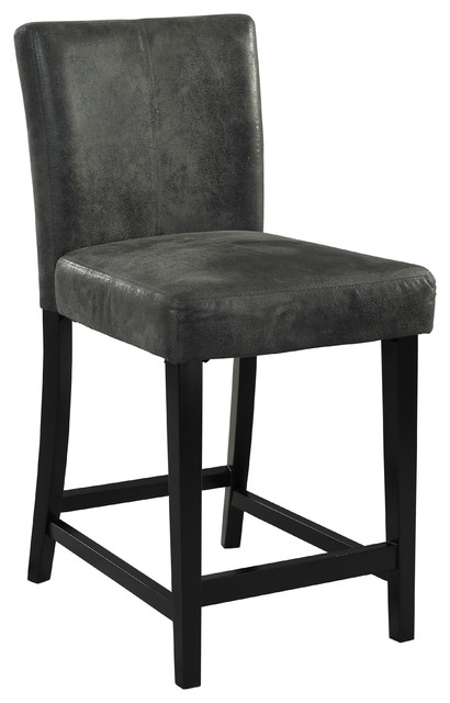 Henley Counter Stool, Charcoal.