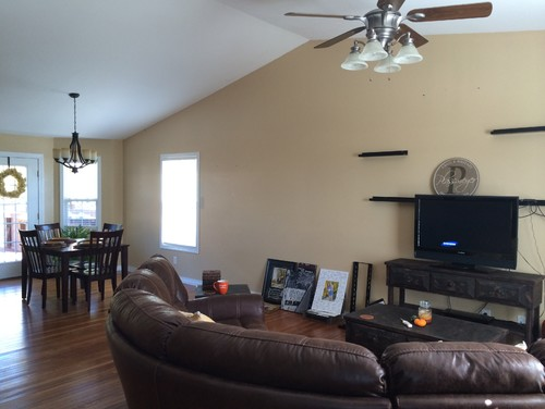 What paint color should i choose for How to paint a cathedral ceiling room