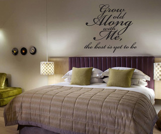 Grow Old Along with Me Vinyl Wall Decal A014GrowoldI ...