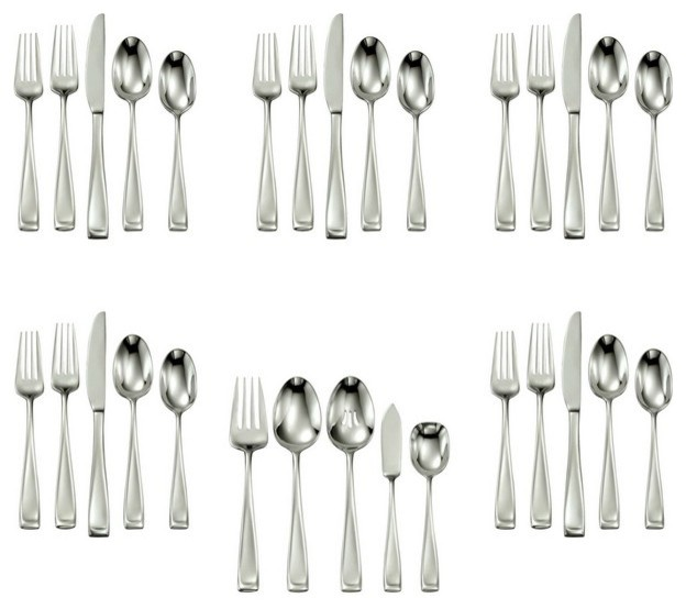 Oneida 18 10 Stainless 65 Pc Sets Moda Traditional