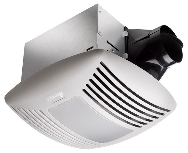 Shop Houzz Delta Breez Delta Breez Signature G2 Ventilation Fan With Light Combo Sig80l