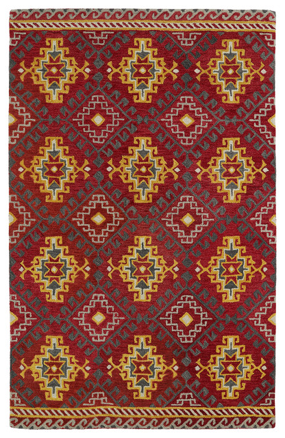 kaleen global inspirations rug - mediterranean - area rugs - by