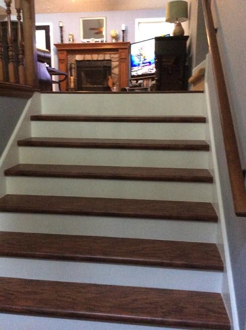 Carpet Runner On Prefinished Laminate Stair Treads?