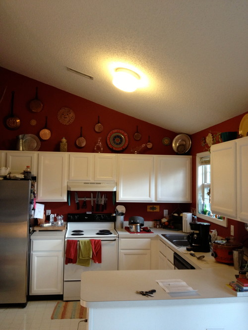 Looking For Budget Friendly Lighting Ideas For A Small Kitchen.