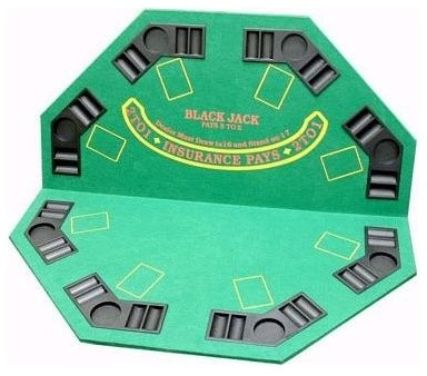 Captivating 2 In 1 Poker Blackjack Table Top Contemporary Game Tables