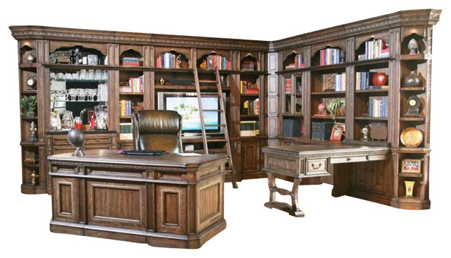 Parker House Aria Library Wall Set Traditional Bookcases