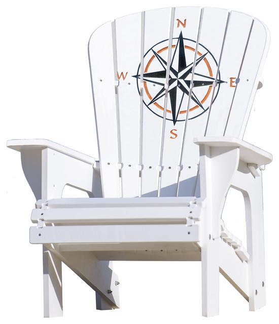 Adirondack Chair, Compass Rose.