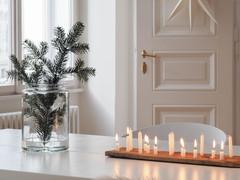 Houzz Tour: Vit och smakfull jul i bloggarens luftiga hem
