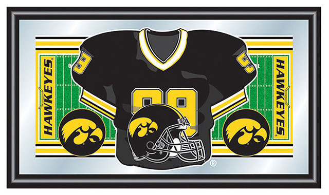 The Ohio State Football Framed Jersey Mirror Contemporary Game Room Wall Art And Signs By Dcg Wholesale