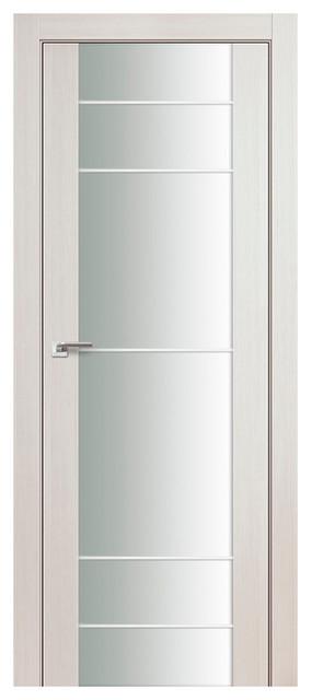 Expo-5q Oak Glass Interior Door, 30x80, Door Slab Only.