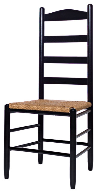 Ladderback Chairs, Black