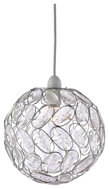Toto Pendant Light Shade Chrome