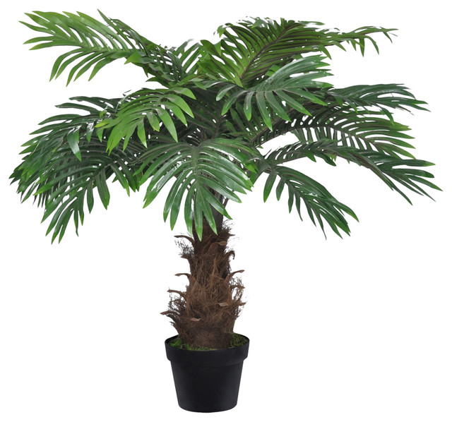 vidaXL Cycas Palm Plant Fake Tree Artificial Arrangement Patio Decor Potted