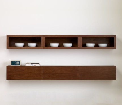 Floating shelves modern