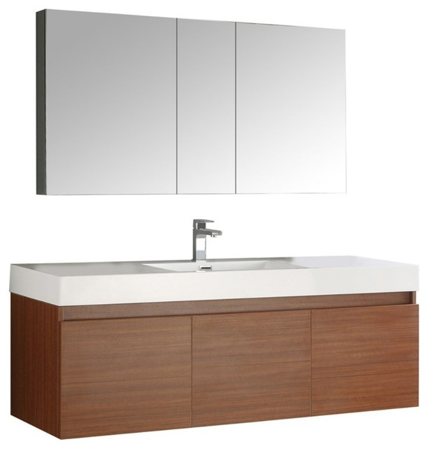 ... With Medicine Cabinet contemporary-bathroom-vanities-and-sink-consoles