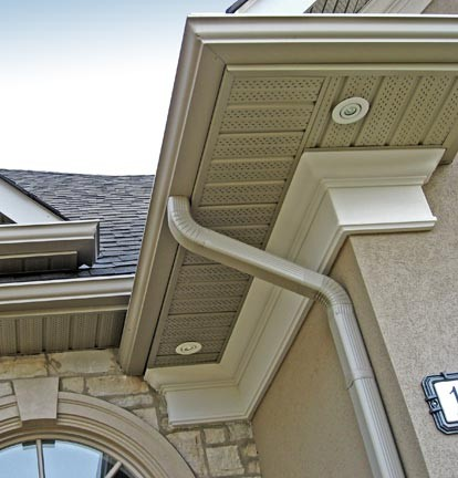 Exterior Crown Molding On Stucco
